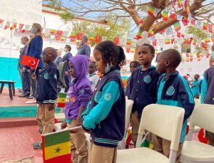 """Senegal'deki Maarif Okullarında """"Yunus Emre ve Türkçe Yılı"""" kutlaması"""