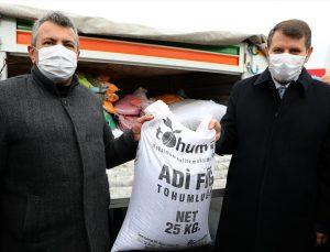 Sivas'ta 5 bin çiftçiye 2 bin ton tohum dağıtıldı