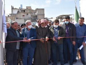"""Suriye'nin kuzeyindeki Bab ilçesinde """"15 Mart Parkı"""" açıldı"""
