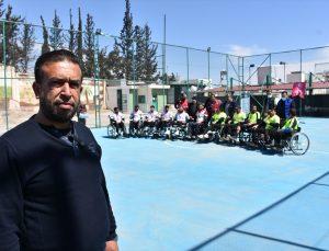 Suriye'nin kuzeyindeki Bab ilçesinde ilk tekerlekli sandalye basketbol takımı kuruldu