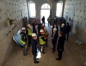 Tarihi Sinop Cezaevi ve Müzesi'nde restorasyon çalışmaları sürüyor