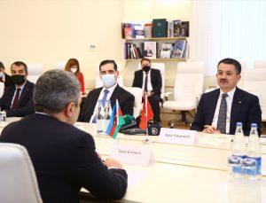 Türkiye ve Azerbaycan arasında tarım konusunda iş birliği niyet beyanı imzalandı