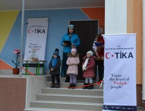 TİKA'dan Ukrayna'ya eğitim alanında destek