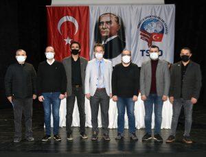 TSYD İzmir Şubesinde başkanlığa tekrar Bahri Okumuş seçildi