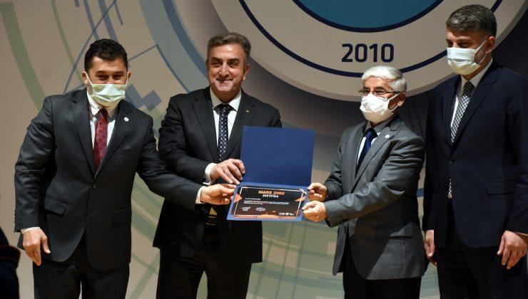 """TUA Başkanı Yıldırım """"Mars 2050 Yaşam Alanı Fikir Yarışması Jüri Ödül Töreni""""nde konuştu:"""