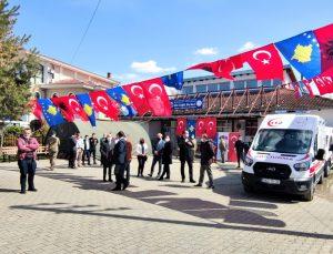 Türk askerinden Kosova'daki tek Türk belediyesi Mamuşa'ya sağlık alanında destek