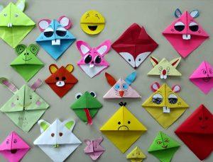 Türk ve yabancı anaokulu öğrencileri origami sanatı ile matematiği öğrendi