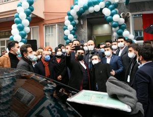 Türkiye Gençlik Vakfı Çanakkale Temsilciliği törenle açıldı