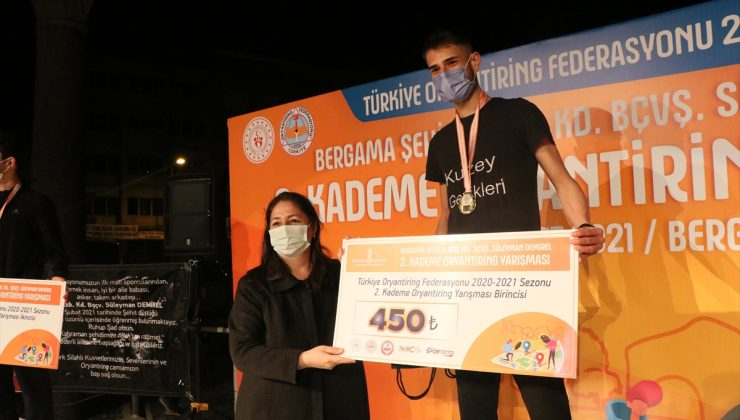 Türkiye Oryantiring Şampiyonası 2. Kademe Yarışları İzmir'de başladı