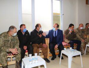 Şırnak Valisi Ali Hamza Pehlivan, Ata ve Sak ailelerine taziye ziyaretinde bulundu