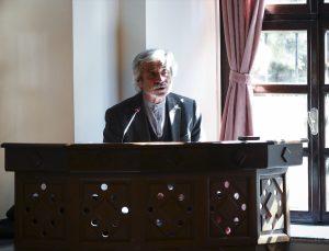 Yazar Mehmet Doğan, Taceddin Sultan Camisi'nde İstiklal Marşı'nın yazılış sürecini anlattı:
