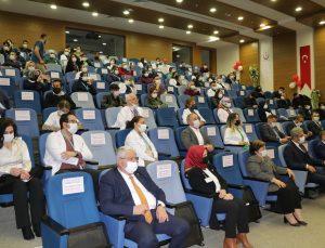 Yozgat'ta öğrencilerden sağlık çalışanlarına müzikli moral
