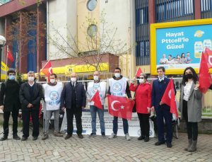 Vatan Parti'sinden PTT işçilerine 100.gün ziyareti