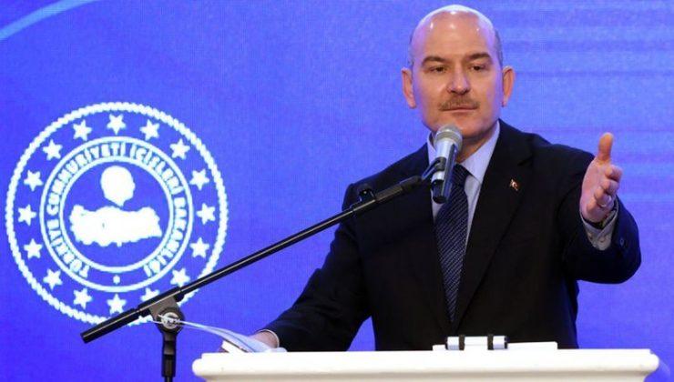 İçişleri Bakanı Soylu, bazı emekli amirallerin bildirisine tepki gösterdi: