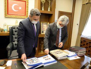 AA Samsun Bölge Müdürü Sansar'dan Tokat Valisi Balcı ve Belediye Başkanı Eroğlu'na ziyaret
