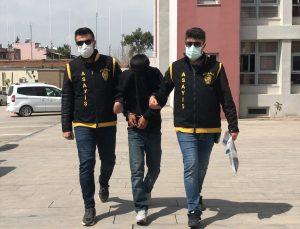Adana'da kadının cep telefonunu elinden alıp kaçtığı öne sürülen zanlı tutuklandı