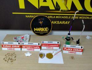 Aksaray'da uyuşturucu sattıkları iddiasıyla yakalanan 5 şüpheli tutuklandı