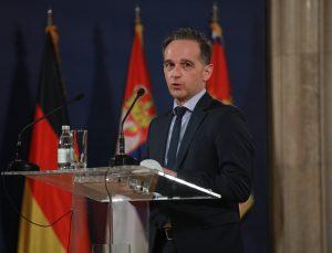 Almanya Dışişleri Bakanı Maas, Sırbistan-Kosova diyaloğunda başarılı sonuçlar elde etmenin tam zamanı olduğunu söyledi