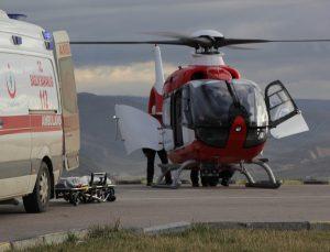 Ankara'da manevra yapan pikabın çarptığı çocuk yaralandı