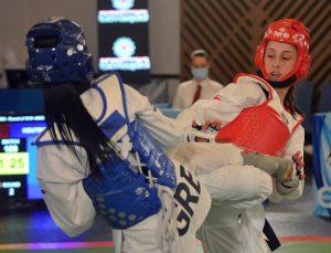 Avrupa Büyükler Tekvando Şampiyonası'nın birinci gününde 4 milli sporcu mücadele etti