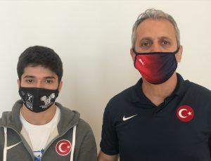 Avrupa Şampiyonu milli halterci Muhammed Furkan Özbek, yurda döndü