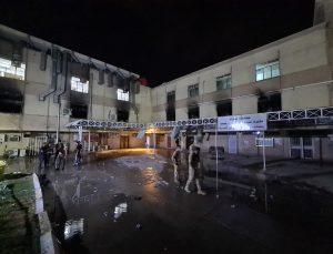 Irak İnsan Hakları Komiserliği: Bağdat'ta Kovid-19 hastanesindeki yangında ölü sayısı 35 ile 40 arası