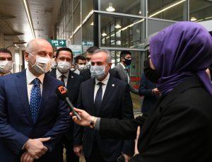 Bakan Karaismailoğlu, bugün Konya-Karaman YHT Hattı'nın test sürüşünü gerçekleştirecek: