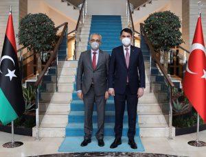 Bakan Kurum, Libya İskan ve İmar Bakanı Ebubekir Muhammed El-Gavi'yle görüştü