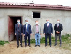 Bitlis'te eski hükümlü devlet desteğiyle hayvancılık yapmaya başladı