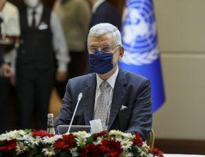 BM 75. Genel Kurul Başkanı Bozkır, BM Ülke Takım Temsilcileri ile görüştü