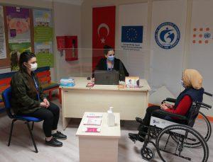 BM Nüfus Fonu ve AB, Türkiye'deki engelli mültecilere destek projesi başlattı