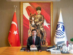 Bodrum Belediye Başkanı Ahmet Aras'dan doğal gaz müjdesi: