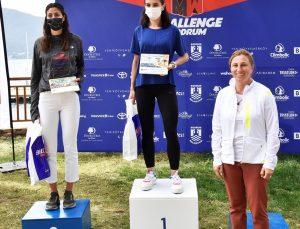 """Bodrum'da """"Man&Woman Challenge"""" Duatlon Yarışları yapıldı"""