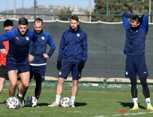 Büyükşehir Belediye Erzurumspor, Denizlispor maçı hazırlıklarını sürdürdü