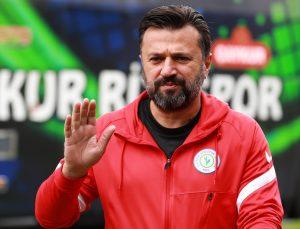 Çaykur Rizespor Teknik Direktörü Bülent Uygun Beşiktaş maçını değerlendirdi: