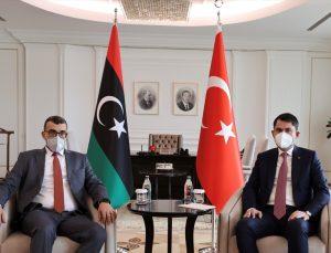 Çevre ve Şehircilik Bakanı Kurum, Libya Yerel Yönetimler Bakanı Bedreddin El-Sadık El-Tumi'yi ağırladı