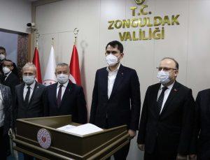 Çevre ve Şehircilik Bakanı Kurum, Zonguldak'ta ziyaretlerde bulundu