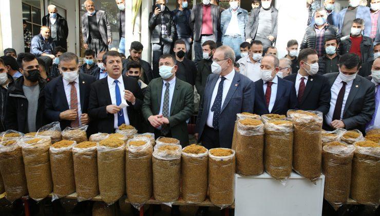 CHP Ekonomi Masası heyeti Adıyaman'da esnaf temsilcileriyle buluştu