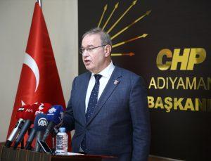 CHP Sözcüsü Faik Öztrak, Adıyaman'da gündemi değerlendirdi: