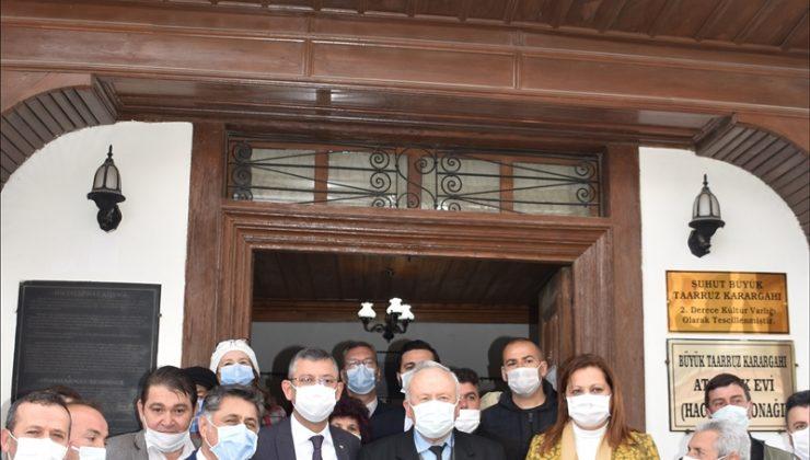 CHP Grup Başkanvekili Özel, Afyonkarahisar'da açıklamalarda bulundu: