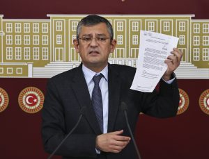 CHP Grup Başkanvekili Özel, MHP Genel Başkanı Bahçeli'nin açıklamalarına yanıt verdi:
