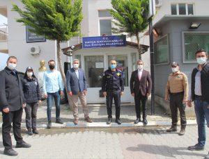 Cumhur İttifakının belediye meclis üyelerinden Datça emniyetine 10 Nisan Polis Haftası ziyareti