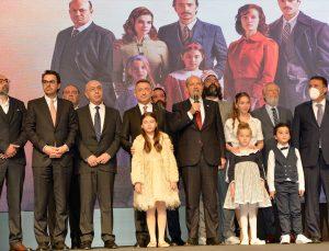 """Cumhurbaşkanı Yardımcısı Oktay """"Bir Zamanlar Kıbrıs"""" dizisinin galasının ardından açıklamalarda bulundu:"""