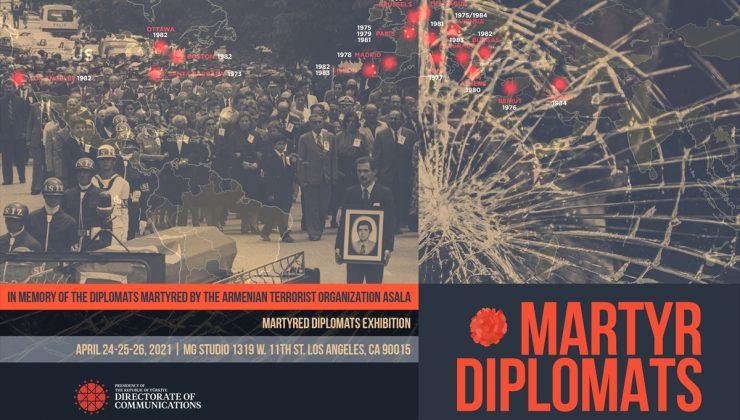 """Cumhurbaşkanlığı İletişim Başkanlığının """"Şehit Diplomatlar Sergisi"""" 24 Nisan'da açılıyor"""