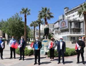 Denizli'de Hak-İş'ten sosyal mesafeli 1 Mayıs açıklaması