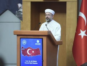 Diyanet İşleri Başkanı Erbaş, kaymakam adaylarına konferans verdi: