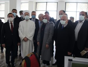 Diyanet İşleri Başkanı Prof. Dr. Erbaş, Malatya'da İlahiyat Camisi ve İslami İlimler Kütüphanesi'ni açtı: