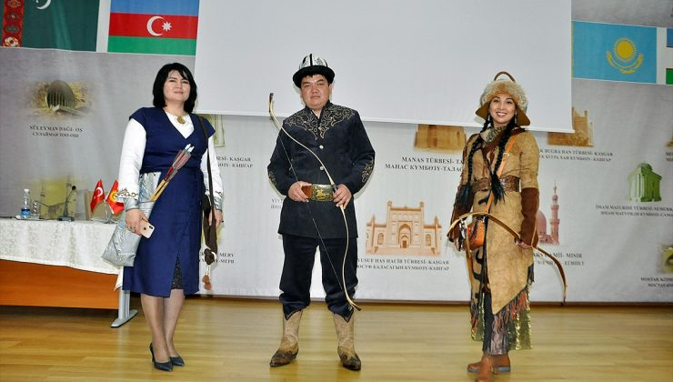 Dünya Etnospor Konfederasyonu Başkanı Bilal Erdoğan, Kırgızistan'da konferansa katıldı:
