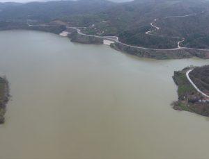 Düzce'deki Hasanlar Barajı'nda su seviyesi tam kapasiteye ulaştı