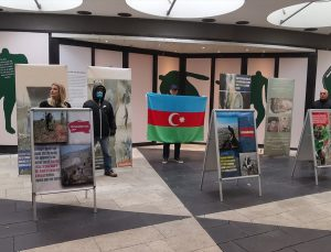 Ermenistan'ın Dağlık Karabağ'ı işgali sırasında yaptığı mezalim İsveç'te fotoğraflarla anlatıldı